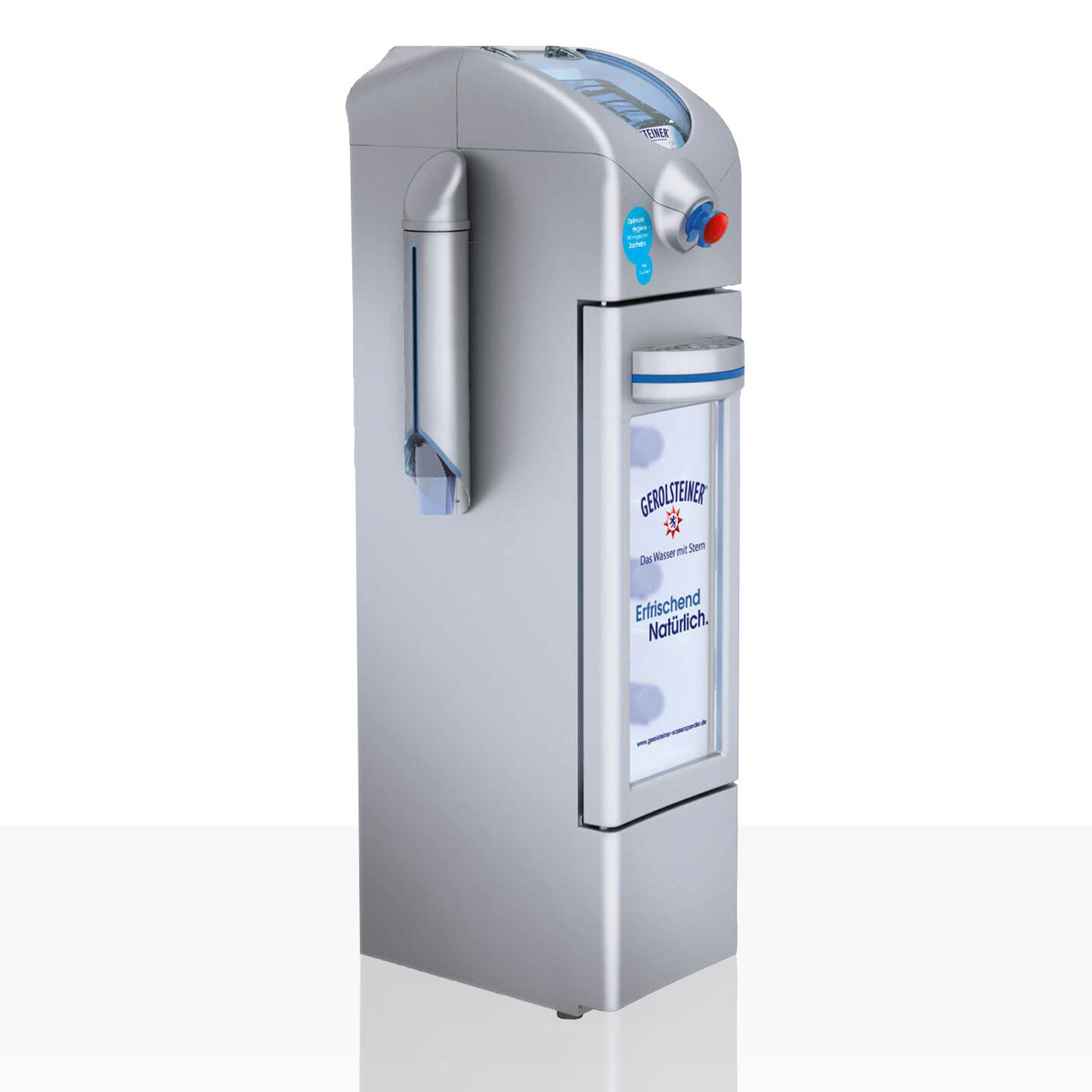 Wasserspender von Gerolsteiner mieten | Coffeefair